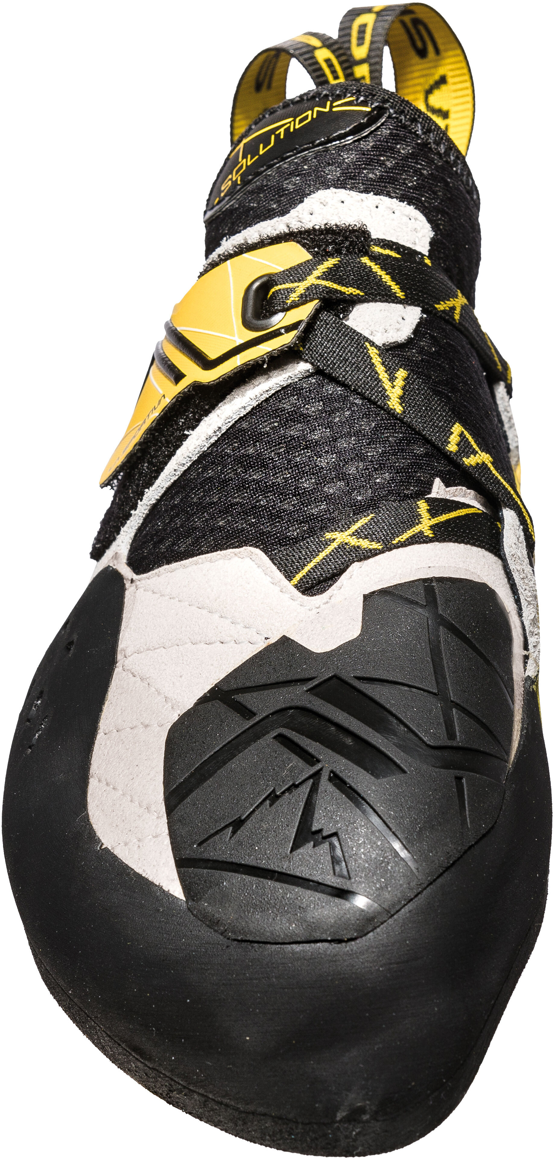 d9a23407f5 La Sportiva Solution Climbing Shoes Men yellow white at Addnature.co.uk
